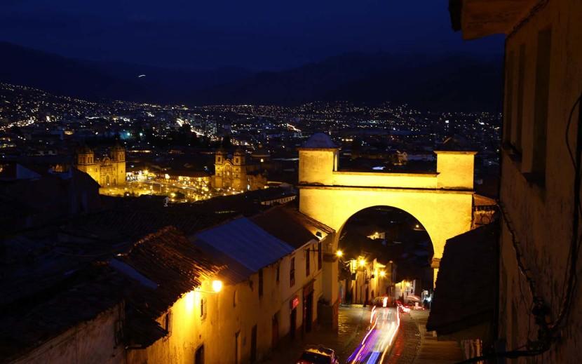 Cusco - Cuesta de Santa ana