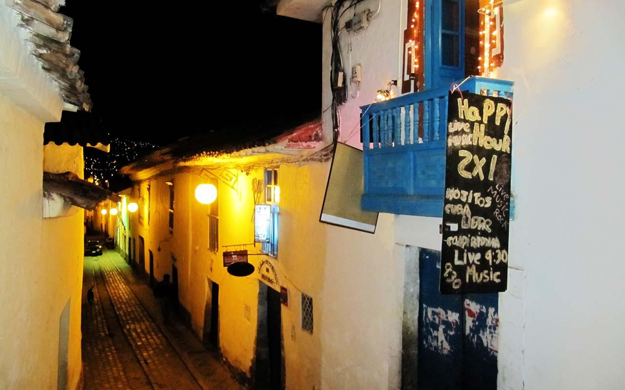 Cusco at night - Trip Peru